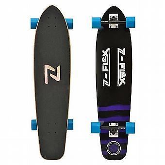 ZFLEX Kicktail Longboard púrpura - ZFXL0012