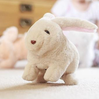 Bouncing Bunny Action Soft Toy