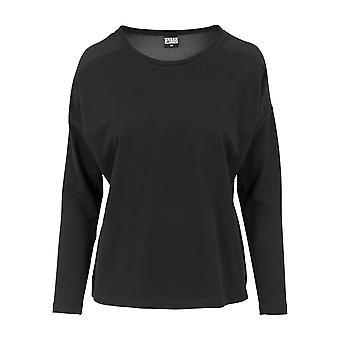 Urban Classics Women's Sweatshirt Oversize chiffon Crew