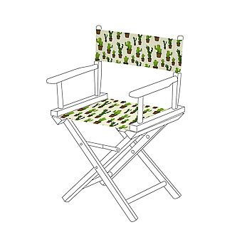 Gardenista® Cacti Design Replacement Directors Chair Canvas Cover