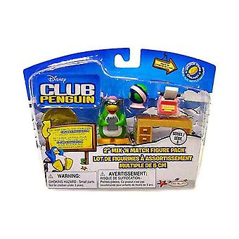 Disney's Club Penguin Series 3 Mix 'n Match 2 Inch Mini Figure