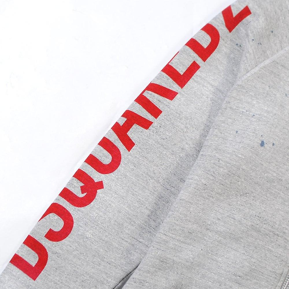Dsquared2 Arm Logo Hoodie Grey