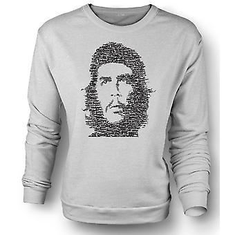 Womens Sweatshirt Che Guevara Word Cloud - Cool