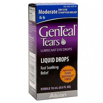 Genteal tears liquid drops, moderate dry eye, 0.5 oz
