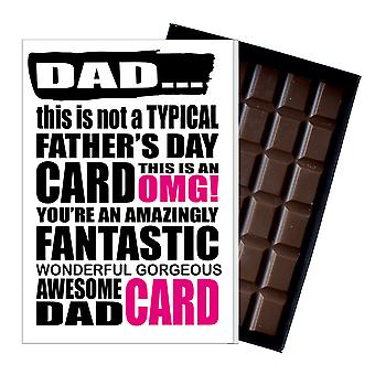 Funny Father's Day Gift Silly Chocolate Present Rude Card For Dad DADIYF102 Funny Father's Day Gift Silly Chocolate Present Rude Card For Dad DADIYF102 Funny Father's Day Gift Silly Chocolate Present Rude Card For Dad DADIYF102 Funny Father