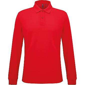 Asquith & Fox - Men's Classic Fit Long Sleeved Polo Shirt