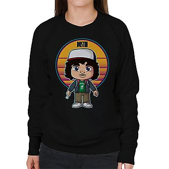 Stranger Things Cute Dustin Women's Sweatshirt