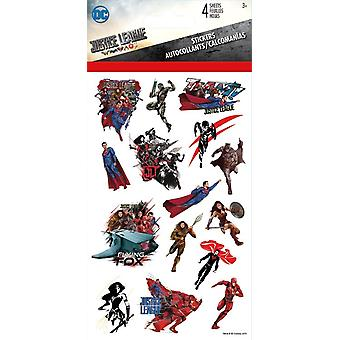 Standard Stickers 4 sheet - Justice League New st4084