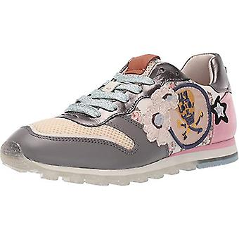 Coach Womens C118 runner met mini Vintage Rose print en patches