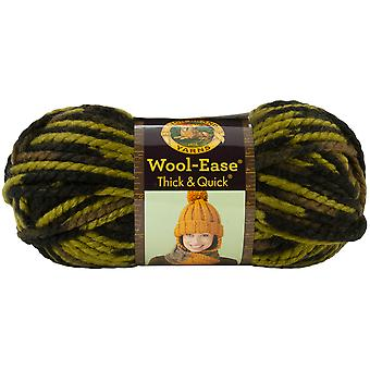 Wool Ease Thick & Quick Yarn Jungle 640 507