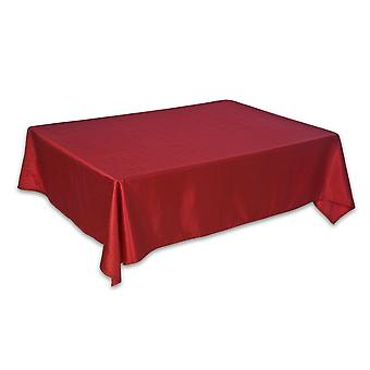 Christmas Shiny Red Table Cloth