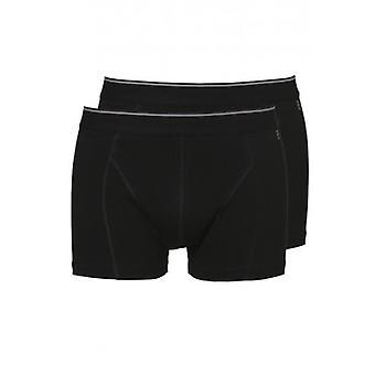 Ten Cate Men Short Two Pack Black Melee ( 30225)