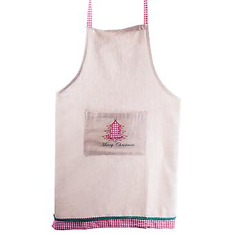 Merry Christmas' Angel Fabric Kitchen Cooking Apron