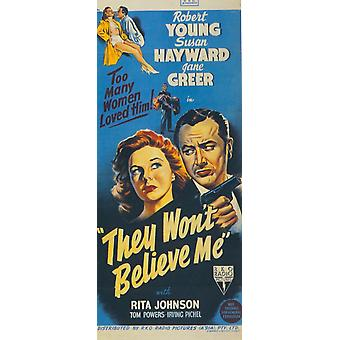 They Wont Believe Me Movie Poster Print (27 x 40)