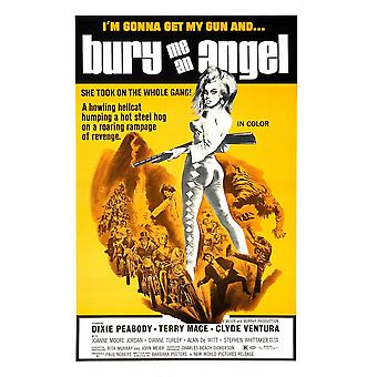 Bury Me An Angel Dixie Peabody 1972 Movie Poster Masterprint