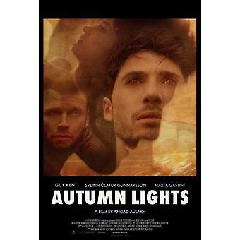 Herbst-Lichter-Film-Poster (11 x 17)