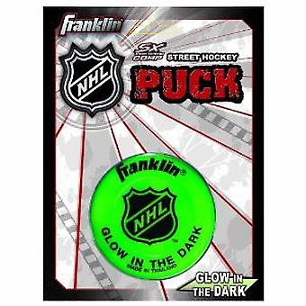 Franklin Street Hockey Puck - Glow in the Dark