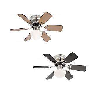 "Globo Ceiling Fan Ugo 76 cm / 30"" with pull cord"