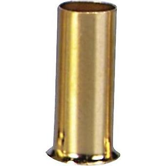 Ferrules 1 x 2.5 mm² Sinuslive gold-plated