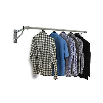 Wall Mounted Clothes Display Hanging Rail