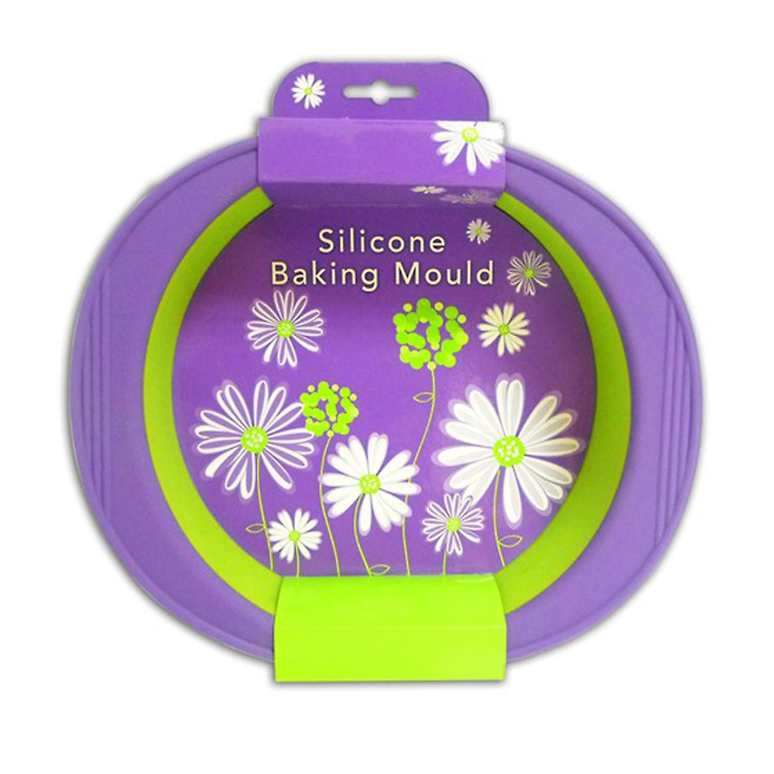 Round Pie & Baking Mould 27cm Diameter in High Grade Silicone by Royle Home