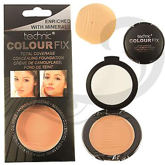 Technic Total Coverage Concealing Foundation - Sorrel