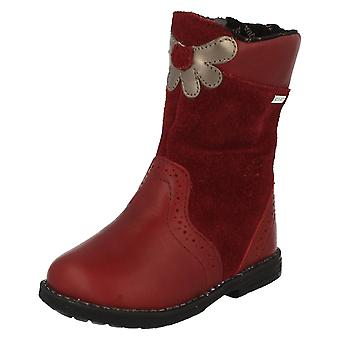 Girls Startrite Casual Boots Aqua Flower