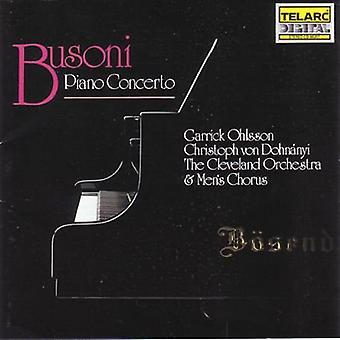 F. Busoni - Busoni: Piano Concerto [CD] USA import