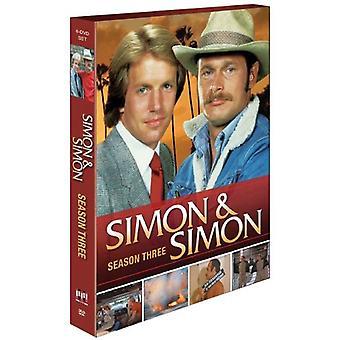 Simon & Simon: Seizoen drie [DVD] USA import