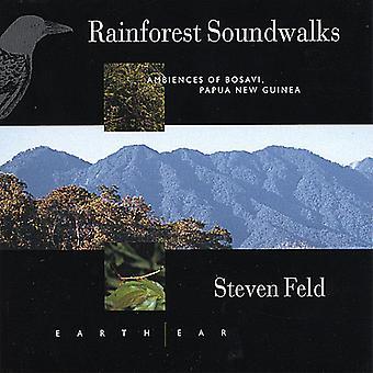 Steven Feld - Rainforest Soundwalks: Ambiente des Bosavi Papua N [CD] USA import