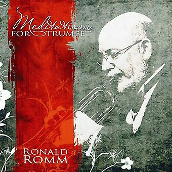 Ronald Romm - Meditations for Trumpet [CD] USA import