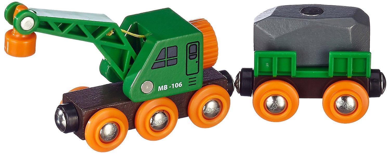 BRIO Rail Clever Crane Wagon