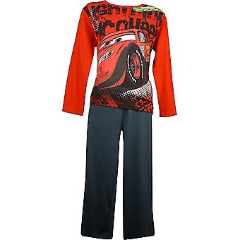 Boys Disney Cars Lightning McQueen Long Sleeve Pyjama Set