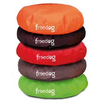Freedog Puff Curve Orange For Pets (Dogs , Bedding , Matresses and Cushions)