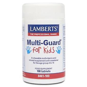Lamberts Für Kinder Multi-Guard (Playfair) 100 Kautabletten Comp