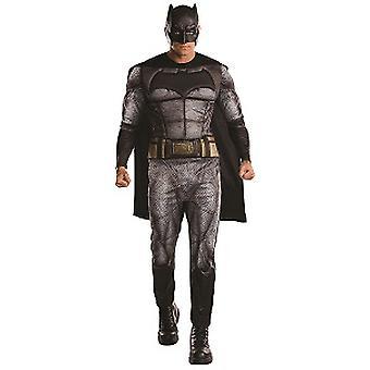 Batman superhero costume from the film dawn of Justice bat adult costume