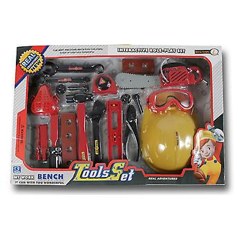 Reig Set Herramientas Con Casco 54X36 (Toys , Home And Professions , Professions)