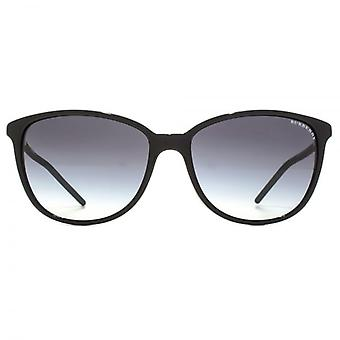 Burberry Fine Cateye Sunglasses In Black