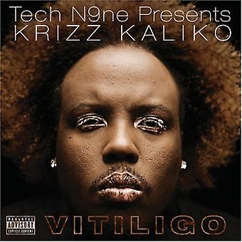 Tech N9NE præsenterer Krizz Kaliko - Vitiligo [CD] USA importerer