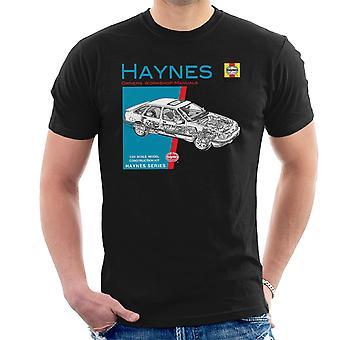 Haynes eiere Workshop manuell 0904 Ford Sierra V6 4 X 4 menn t-skjorte