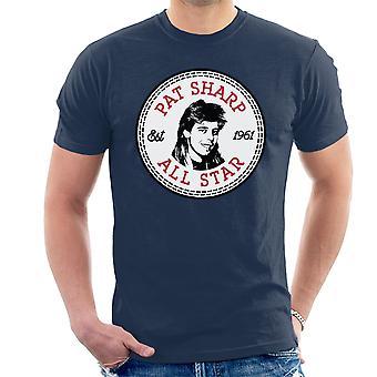 Snakke Pat skarp All Star menn t-skjorte