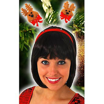 Hair accessories  Christmas diadem with reindeer