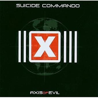 Selvmord Commando - akse af Evil [CD] USA import