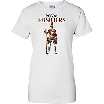 Königliche Füsilier - britische Armee Infanterie - Damen-T-Shirt