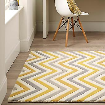 Cabone Wool Rugs In Yellow
