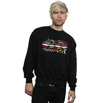 Elf Men's Candy Cane Forest Sweatshirt