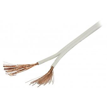 ValueLine speaker cable white 2 x 1.50 mm 100 m ²