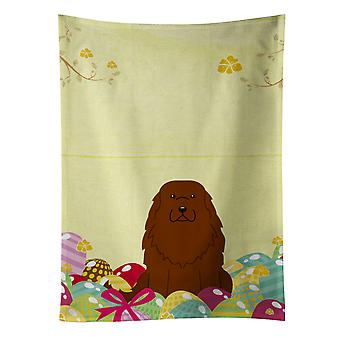 Carolines Treasures  BB6050KTWL Easter Eggs Caucasian Shepherd Dog Kitchen Towel