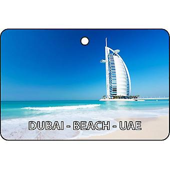 Dubai - Beach - UAE Car Air Freshener