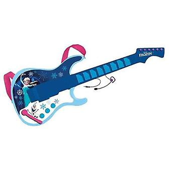 Reig Electric Guitar With Frozen Mp3 Output